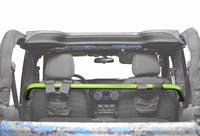 Steinjager Harness Bar Kit Wrangler JK 2007-2018 2 Door Front Gecko Green