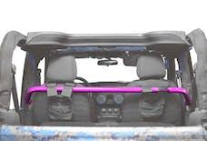 Steinjager Harness Bar Kit Wrangler JK 2007-2018 2 Door Front Hot Pink