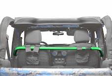 Steinjager Harness Bar Kit Wrangler JK 2007-2018 2 Door Front Neon Green