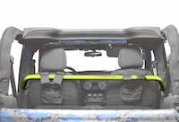 Steinjager Harness Bar Kit Wrangler JK 2007-2018 2 Door Front Neon Yellow