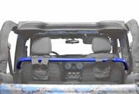 Steinjager Harness Bar Kit Wrangler JK 2007-2018 2 Door Front Southwest Blue