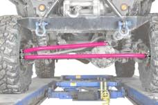 Steinjager Steering Kit, Crossover Wrangler TJ 1997-2006 Hot Pink