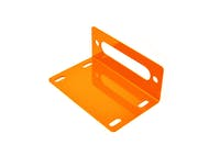 Steinjager Winch Accessories Wrangler TJ 1997-2006 Fairlead Mount Fluorescent Orange