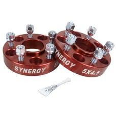 Synergy MFG 4111-5-45-H - Jeep Hub Centric Wheel Spacers 5X4.5-1.25 Inch Width 1/2-20 UNF Stud Size Synergy MFG