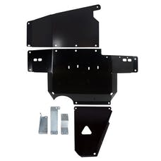 Synergy MFG 5709-BK - JK Heavy Duty Complete Skid Plate System 12-18 Wrangler JK/JKU Black Powdercoated Synergy MFG