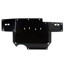 Synergy MFG 5710-01-BK - Jeep JK Heavy Duty Transmission Skid Plate 07-18 Wrangler JK/JKU Black Powdercoated Synergy MFG