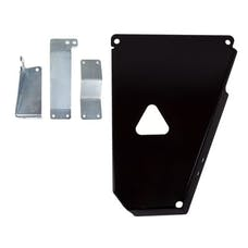 Synergy MFG 5710-04-BK - JK Oil Pan Skid Plate Black Powdercoated 12-18 Wrangler JK/JKU Synergy MFG