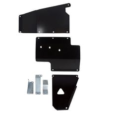 Synergy MFG 5712-BK - JK Standard Complete Skid Plate System 12-18 Wrangler JK/JKU Black Powdercoated Synergy MFG