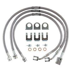 Synergy MFG 8111-40 - TJ/LJ Extended DOT Approved Brake Line Kit TJ/LJ Synergy MFG