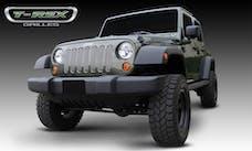 T-Rex Grilles 30481 Billet Grille, Polished, Aluminum, 7 Pc, Bolt-On