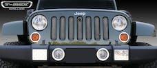 T-Rex Grilles 46482 Sport  Grille, Black, Mild Steel, 1 Pc, Bolt-On