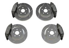 TeraFlex 4403450 - JL - JK Delta Brake Kit - Front & Rear - 5x5in Bolt Pattern