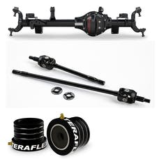 Teraflex Jeep Wrangler JK Rubicon 3524410 Tera44 Rubicon HD Front Axle Housing 4.10 R&P, Includes Front Axle Shaft Kit & High Performance Front Axle Tube Seal