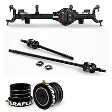 Teraflex Jeep Wrangler JK Rubicon 3524538 Tera44 Rubicon HD Front Axle Housing 5.38 R&P, Includes Front Axle Shaft Kit & High Performance Front Axle Tube Seal