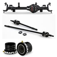 Teraflex Jeep Wrangler JK Rubicon 3545351 Tera44 Rubicon HD Front Axle Housing 5.13 R&P, Includes Front Axle Shaft Kit & High Performance Front Axle Tube Seal