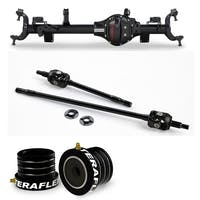 Teraflex Jeep Wrangler JK 3552488 Tera44 HD Front Axle Housing Kit, Includes Front Axle Shaft Kit & High Performance Front Axle Tube Seal