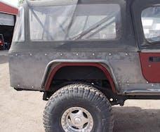 TNT Customs C80CLED - Jeep CJ8 Corner Guard No Flare 4 Inch LED Cutouts 81-85 Jeep CJ8 Scrambler