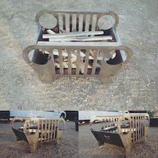 TNT Customs FPTJ - TJ Fire Pit 97-06 Jeep Wrangler TJ