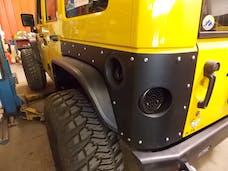 TNT Customs JCA4 - JK Corner Guard Aluminum 07-Pres Wrangler JK Unlimited 4 Dr