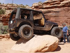 TNT Customs T0CSTK - Jeep TJ Corner Guards No Flare Stock Opening Stock Light Mount 97-06 Wrangler TJ