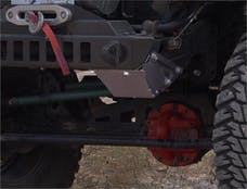 TNT Customs TSKSB - Jeep TJ/LJ Steering Box Skid Plate 97-06 Wrangler TJ/LJ