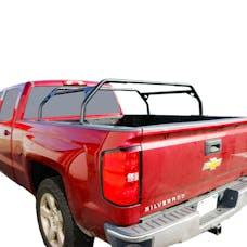 Tuff Stuff Overland TS-UBR-PDR-40 - 40 Inch Rooftop Tent Truck Bed Rack Adjustable Mild Steel Powdercoat
