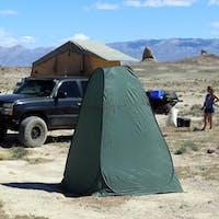 Tuff Stuff Overland TS-TOILET-TENT - Portable Outdoor Toilet Tent