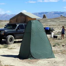 Tuff Stuff Overland TS-TOILET-TENT - Portable Outdoor Toilet Tent