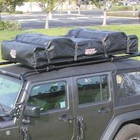 Tuff Stuff Overland TS-RTT-DC-BK-ELT - Rooftop Tent Driving Cover Black Elite Overland