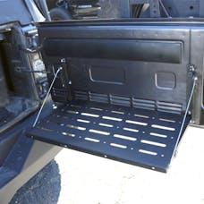 Tuff Stuff Overland TS-TABLE-TG - Jeep JK Tailgate Table 07-18 Wrangler JK Black
