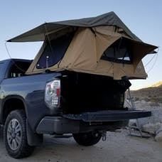 Tuff Stuff Overland TS-RTT-DLT - Rooftop Tent 2 Person Delta Overland Sand