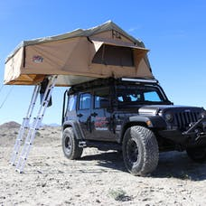 Tuff Stuff Overland TS-RTT-ANX-ELT - Rooftop Tent & Annex Room 5 Person Elite Overland