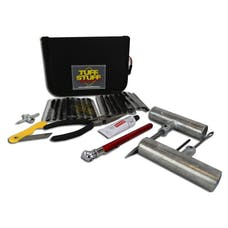 Tuff Stuff Overland TS-TRK - Tire Repair Kit Includes Tools Plugs Patches & Storage Case