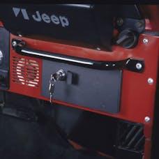 Tuffy Security 035-01 CJ Security Glove Box-Black