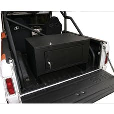 Tuffy Security 046-01 Rear Cargo Lockbox-Steel Black