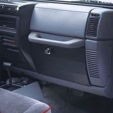 Tuffy Security 049-03 TJ Glove Box-Charcoal