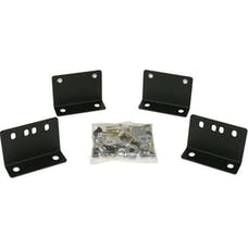 Tuffy Security 078-01 Drawer Mounting Kit TJ 2003 and later; Black For use with 021 or 130