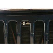 Tuffy Security 137-01 - Jeep TJ/LJ Hood Lock Black
