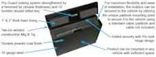 Tuffy Security 182-01 - Laptop Computer Security Lockbox