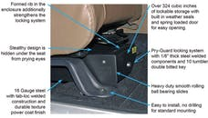 Tuffy Security 293-01 JK CONCEAL CARRY UNDERSEAT SECURITY DRAWER; MOUNTS UNDER PASSENGER SEAT OF JK fo