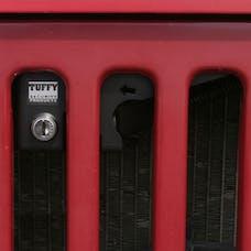 Tuffy Security 295-01 - Jeep YJ Hood Lock Black
