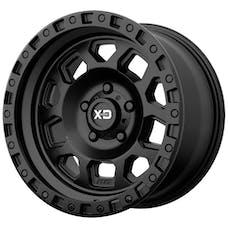 XD Series XD13279050712N - XD132 RG2 Matte Black Wheel 17x9, 5x127.00