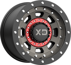 XD Sereies XD13779035912N - XD137 Full Metal Jacket - 17x9, -12mm, 5x5 bolt pattern, 4.53 backspace - Satin Black Dark Tint