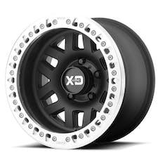 XD Series XD22979050738N - XD229 Machete Crawl Beadlock Satin Black Wheel 17x9 5X5
