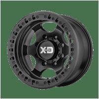 ATX Series XD23279080738N -XD Series XD232 - 17X9, 8x165.10 Bolt Pattern - SATIN BLACK