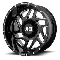 XD Series XD83629050300 - XD Fury 20x9 5x5 Gloss Black