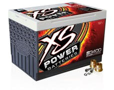 XS Power Batteries S3400 - S Series 12V 3,300 Amp AGM Automotive Starting Battery with Terminal