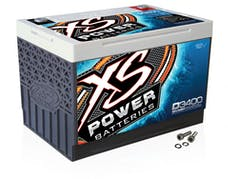 XS Power Batteries D3400 - XS Series 12V 3,300 Amp AGM High Output Battery with M6 Terminal Bolt