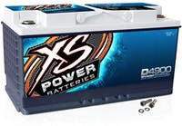 XS Power Batteries D4900 - 12V BCI Group 48 AGM Battery (Max Amps 3,000A, CA: 815 Ah: 60, 2000W / 3000W)