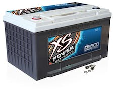 XS Power Batteries D6500 - XS Series 12V 3,300 Amp AGM High Output Battery with M6 Terminal Bolt